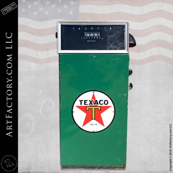 Vintage Texaco Model 793 Tokheim Gas Pump