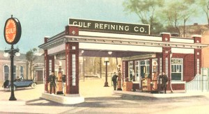 Gulf Oil - Old Service Station - SSD900