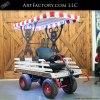 Theme Park Super Wagon With Popcorn Canopy - SW16