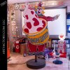 Dairy Queen Curly The Clown Neon Sign