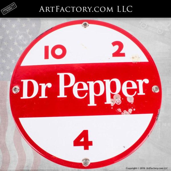 Dr Pepper Porcliaine Vintage Sign - DPS200