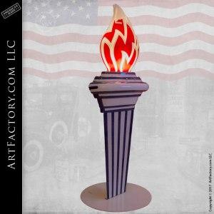 Standard Oil Co Torch Light