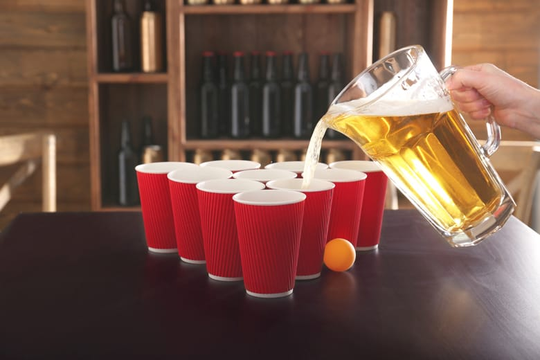 beer pong rules