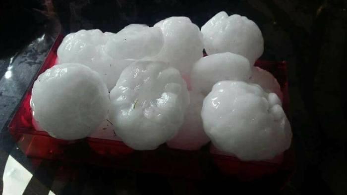 granizo hail frança france