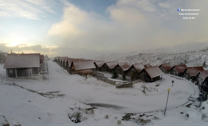 chalets serra estrela mancha instrutor neve nevão snowb