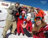 mancha instrutor ski aula colectiva