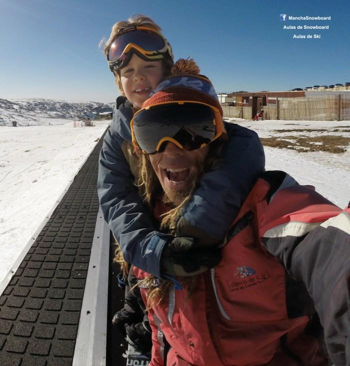 snowboard class aula
