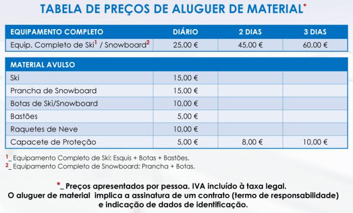 aulas mancha instrutor tabela preços equipamento material snowboard esqui ski