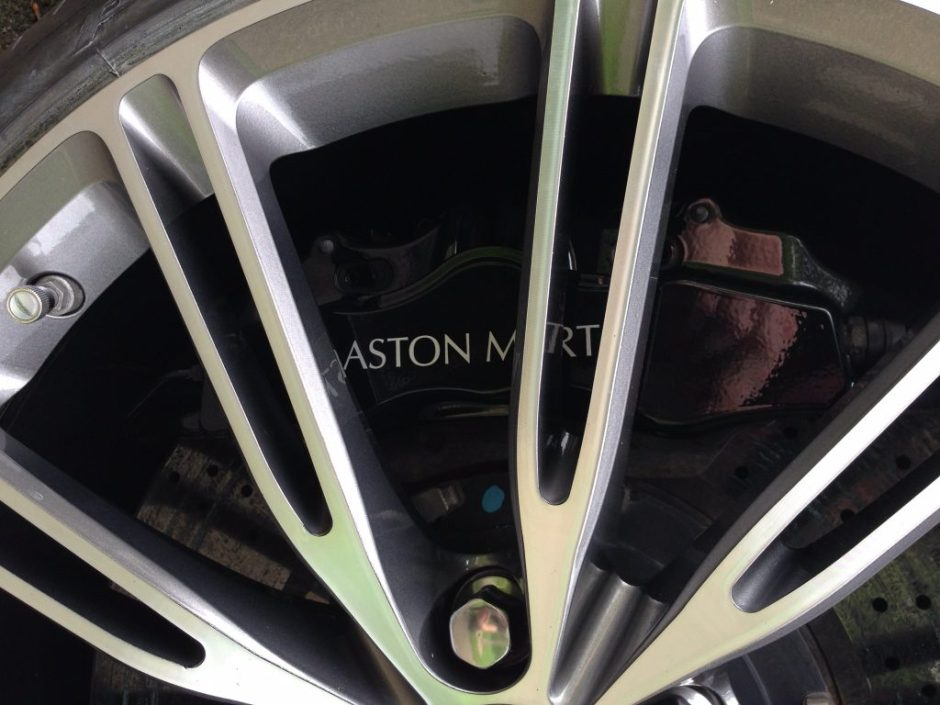 Aston Martin diamond cut repair