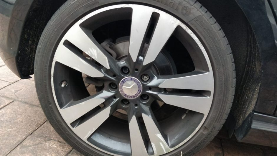 diamond cut alloy wheel repair