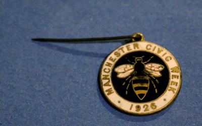 Manchester Civic Week Bee Medal