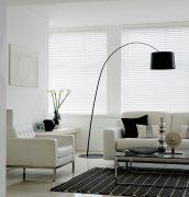 Gloss White Living Room
