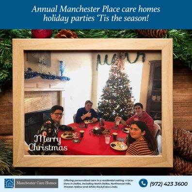 Annual Manchester Place care homes holiday parties 3