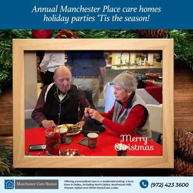 Annual Manchester Place care homes holiday parties 4