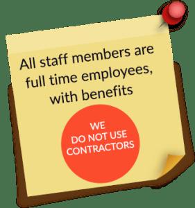 no contractors 1