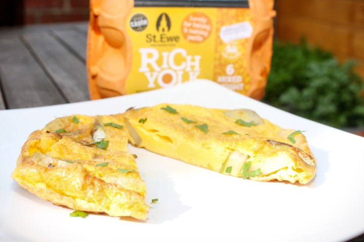 St Ewes Eggs – Frittata Challenge