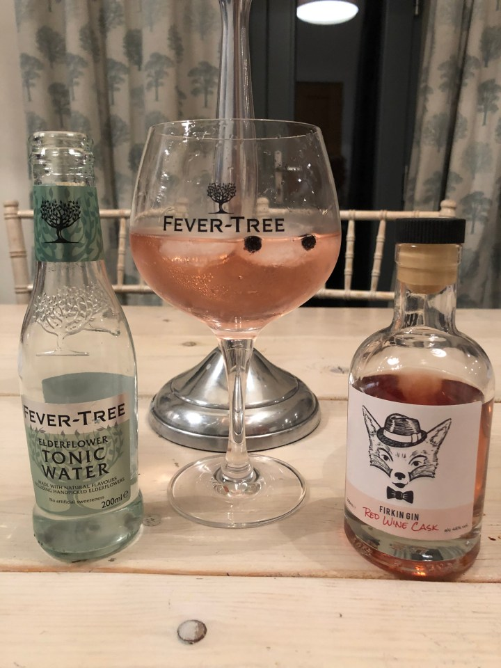 Gin of the Month – Firkin Red Wine Cask Gin