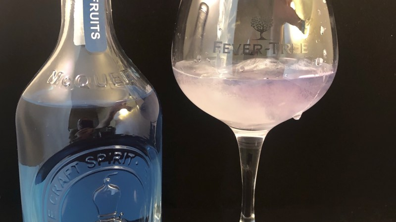 Gin of the Month – McQueens Colour Changing Gin