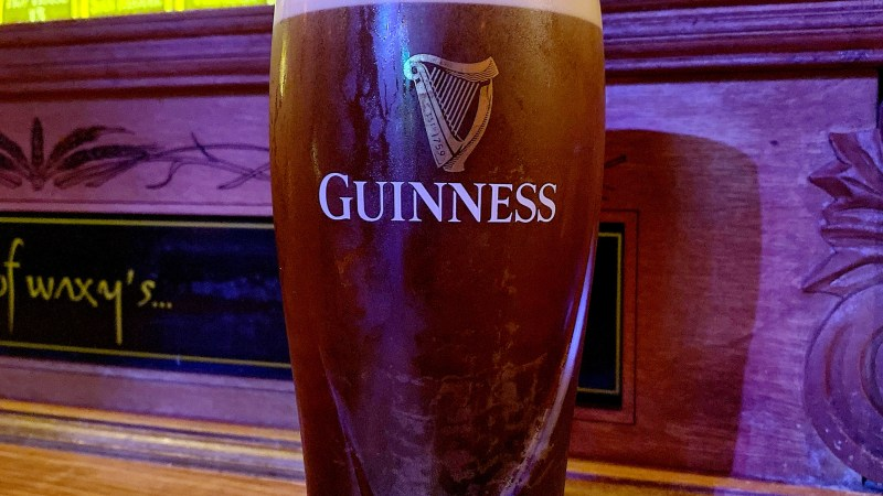 The Guinness Experience, or your face on a pint – Now in Manchester