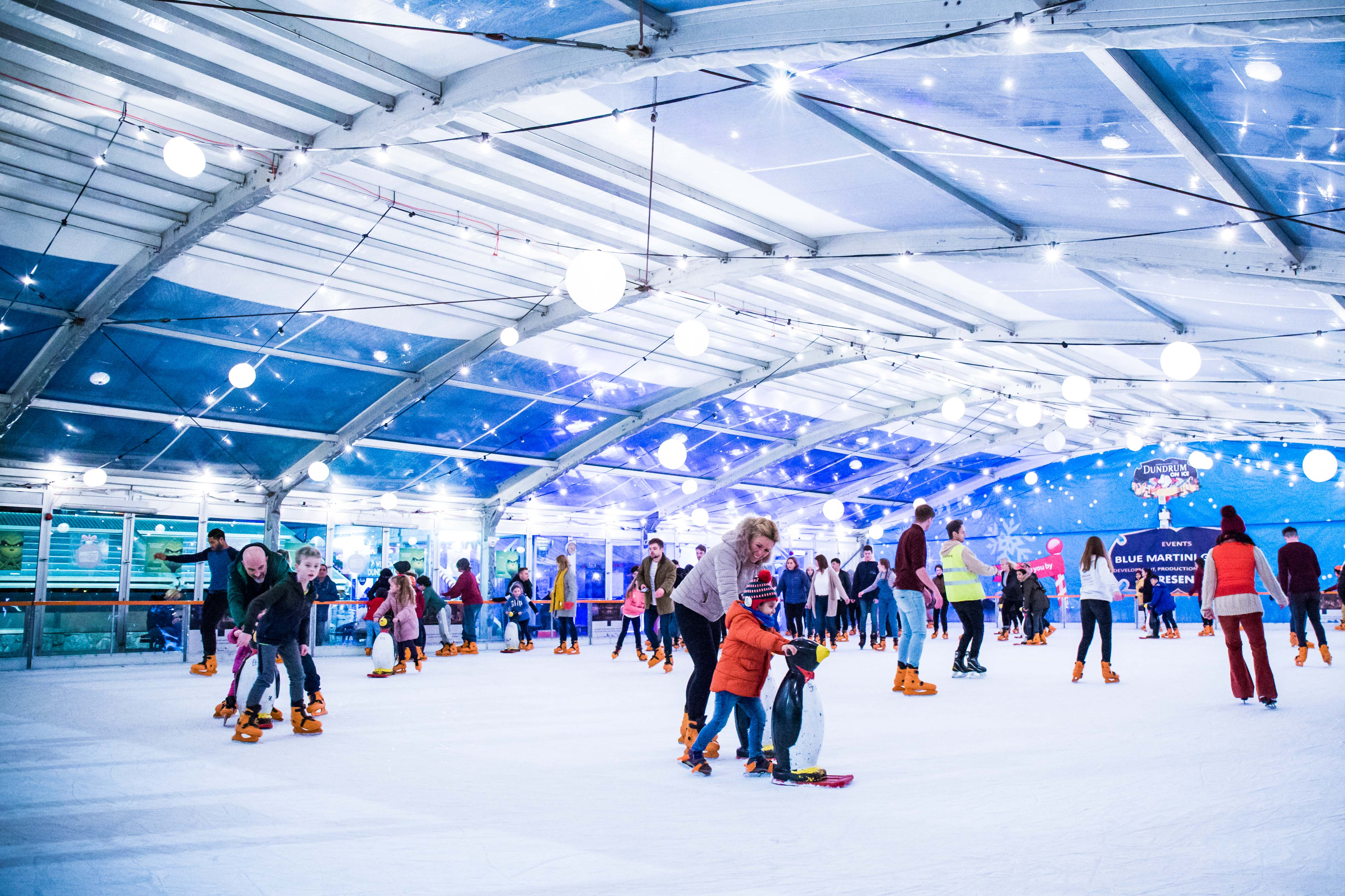 Ice Rink and Retreat Skate Bar now open at MediaCityUK