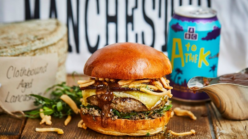 Honest Burger Manchester – Beef Wellington Burger Launched