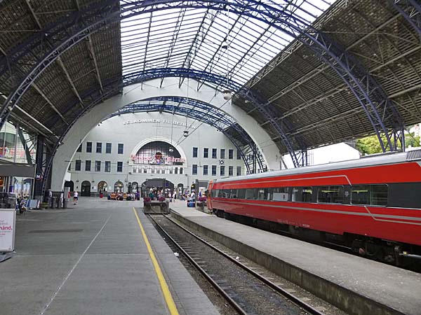 Bergen Railway Station Norway