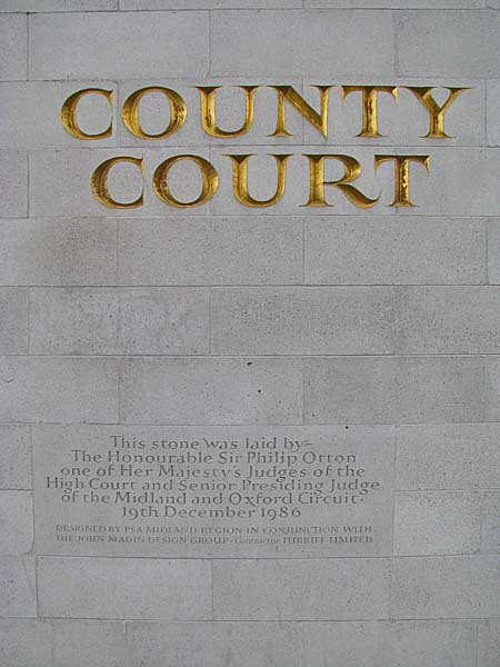 Crown Court County Court Coventry Uk
