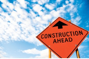 Road closures and construction in the city this week.
