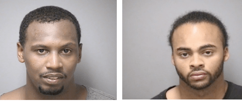 David K. Roberts, left, and Jose Miranda, right, are wanted in connection with a July 31 shooting incident in Manchester, on Lowell Street.