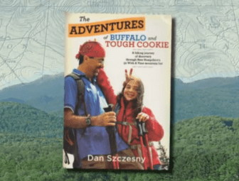 """The Adventures of Buffalo and Tough Cookie,"" a hiking diary turned book."