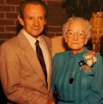 Roy and Gladys Choate, the Liberace of grandparents.