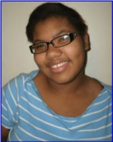 Mariel Morel, West High School Junior.
