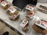 Everyone got to take home leftover cookies, courtesy of Manchester CrimeLine.