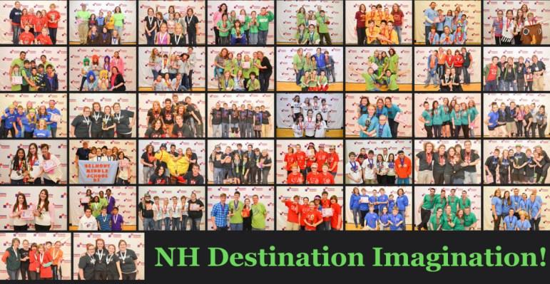 NH Destination Imagination teams from 2014.