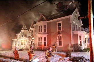Harrison Street Fire