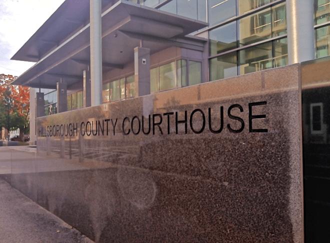 court fall