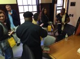 Brenda Bailey Lett signs copies of her book.