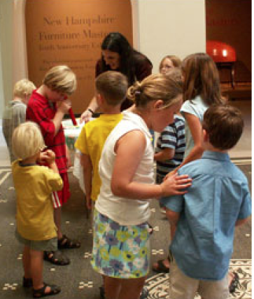 School tours at the Currier Museum expand students' horizons.