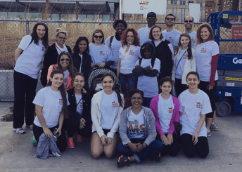 Team Tolson, participating in the 2015 Walk MS in New York City.