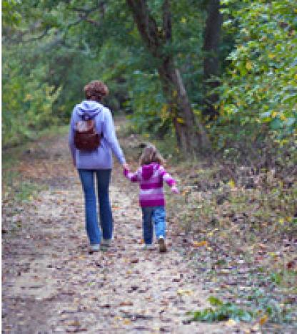 Take a hike... with Mom!