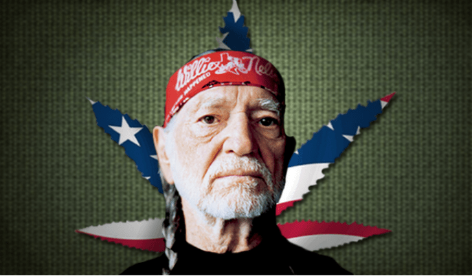 Willie Nelson is an iconic pot-smoking old coot.