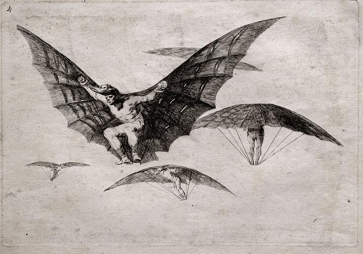 """A Way of Flying"" by Francisco de Goya y Lucientes"
