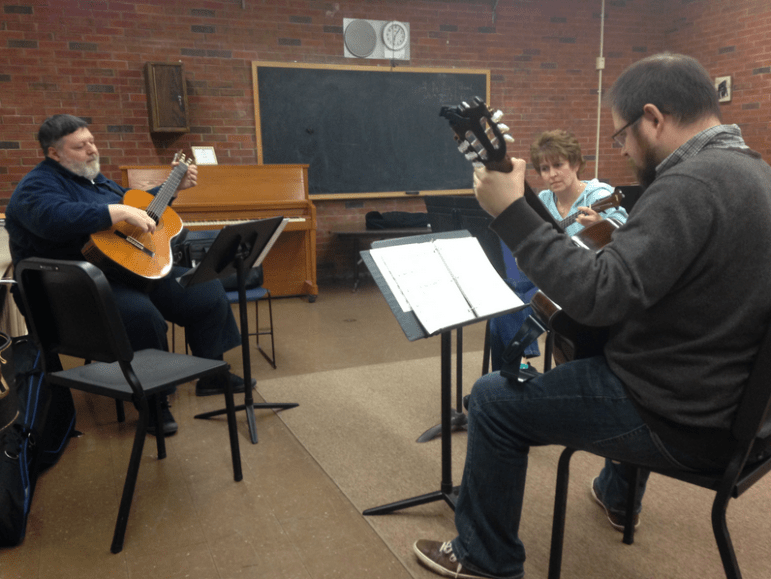 Never too old: Manchester Community Music School offers adult ensembles, and more.