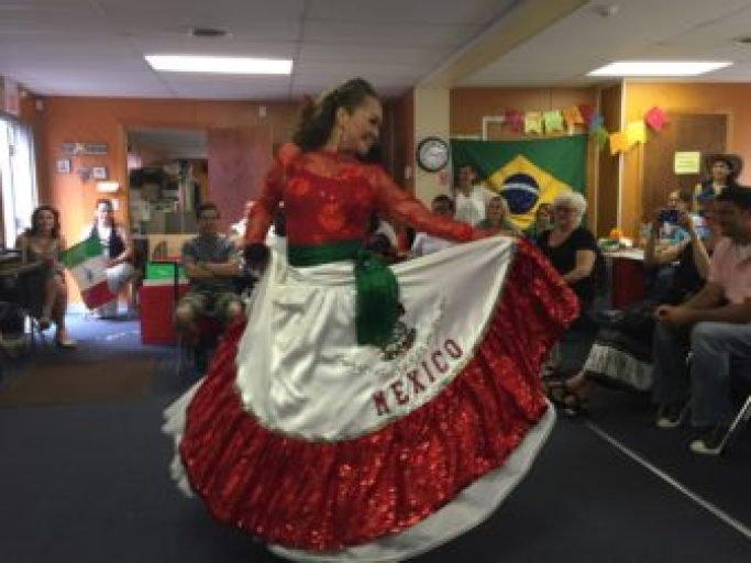 Imelda Juarez Thompson shares a dance from her homeland of Mexico.