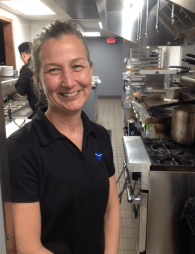 Keri Laman, owner of Waterworks Cafe and Bayona Cafe