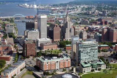 PVD Downtown aerial