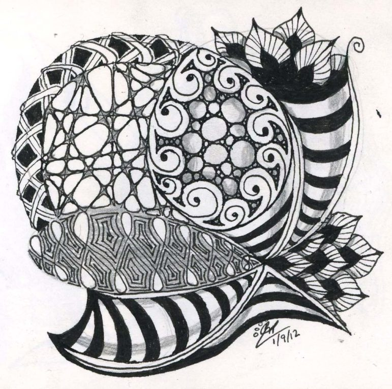 Zentangle sample