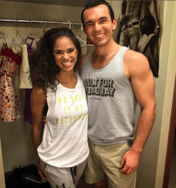 With Misty Copeland via @maxmclayton on Instagram, Sept. 7.
