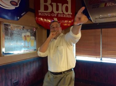Ed Sapienza wants you... to come out for candidate karaoke night!