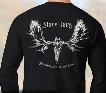 Moose skull long-sleeve T-shirt - $17.